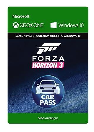 Forza Horizon 3 Car Pass Xbox One Windows 10 Code Jeu A