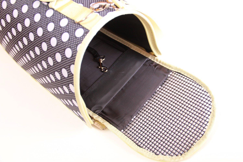 51 x 26 x 29 cm. BPS Portador Transport/ín Bolsa Bolso de tela Mascotas Lunares Animales Azul oscuro Tama/ño: L para Perro o Gato R