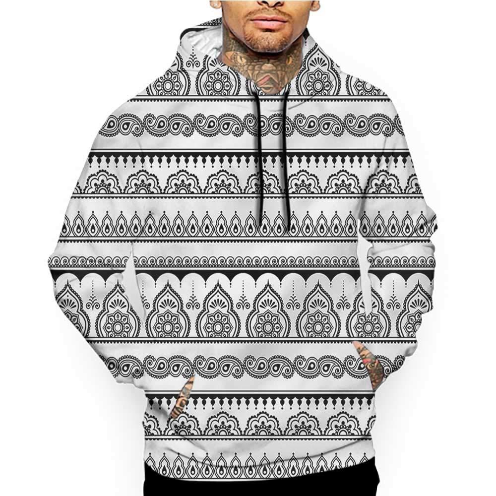 Hoodies Sweatshirt/Autumn Winter Hearts,Floral Ornamentation Nature,Sweatshirts for Women Hanes