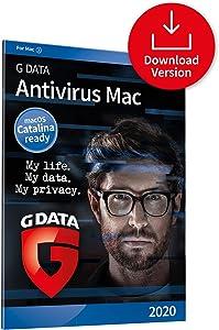 G DATA Antivirus Mac 2020 | 1 Mac - 1 Year | Anti-virus for Apple Mac, Macbook, iMac, macOS Catalina | Download Code
