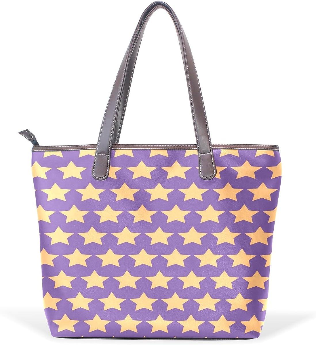 Ye Store Cute Pink Pattern Lady PU Leather Handbag Tote Bag Shoulder Bag Shopping Bag