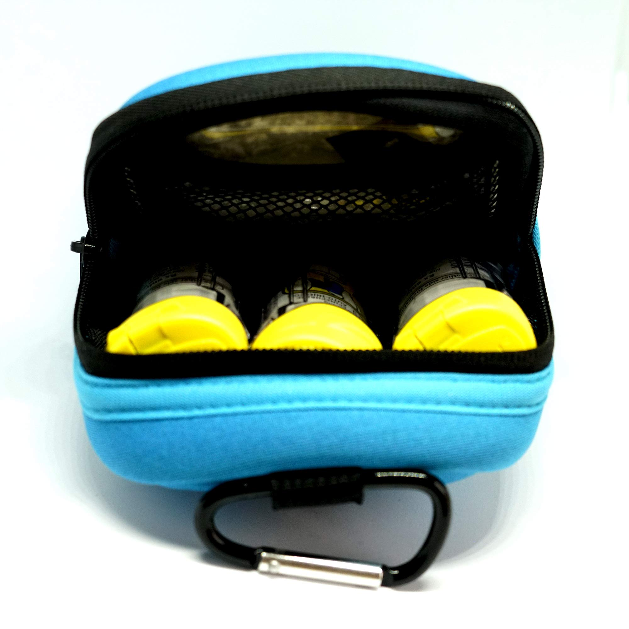 EPI-TEMP Epipen Insulated Case for Kids, Adults - Smart Carrying Pouch, Storage Bag, Powered by PureTemp Phase Change Material to Keep Epinephrine in Safe Temperature Range (Teal) by EPI-TEMP (Image #7)