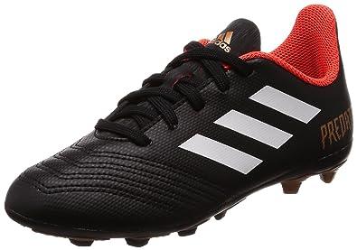 8d3d30f4abecb Adidas Boy s Predator 18.4 FxG J Cblack Ftwwht Solred Sports Shoes - 12 Kids