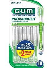 GUM Proxabrush Go-Betweens Interdental Brushes, Tight, 10 Count