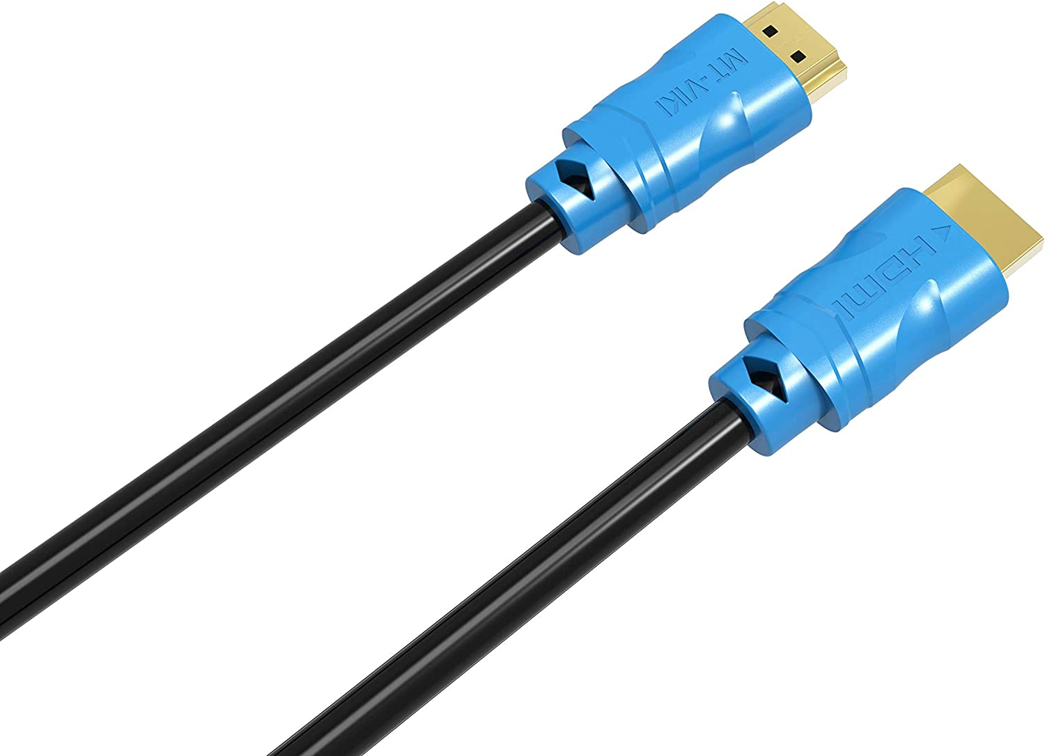 4K @30Hz Standard Twin KVM Switch Cable 2pack 1.8m MT-VIKI HDMI KVM Cables with USB A to B