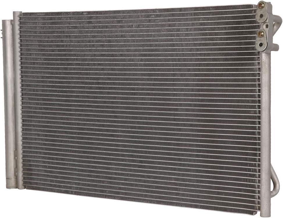 ECCPP Auto Parts Air Conditioning A//C AC Condenser Aluminum A//C AC Condenser Replacement Radiator for 3443 2008-2012 BMW M3 3.0L CU3443