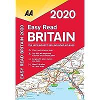 Easy Read Britain 2020 Flexibound (AA Road Atlas Britain)