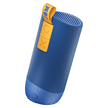 Jam Zero Chill Pairable Bluetooth Speaker 22 Hour Playtime Waterproof Blue Built In Speakerphone Drop Proof IP67 Rating Dust Proof USB Charging 30 Metre Range Aux In Port