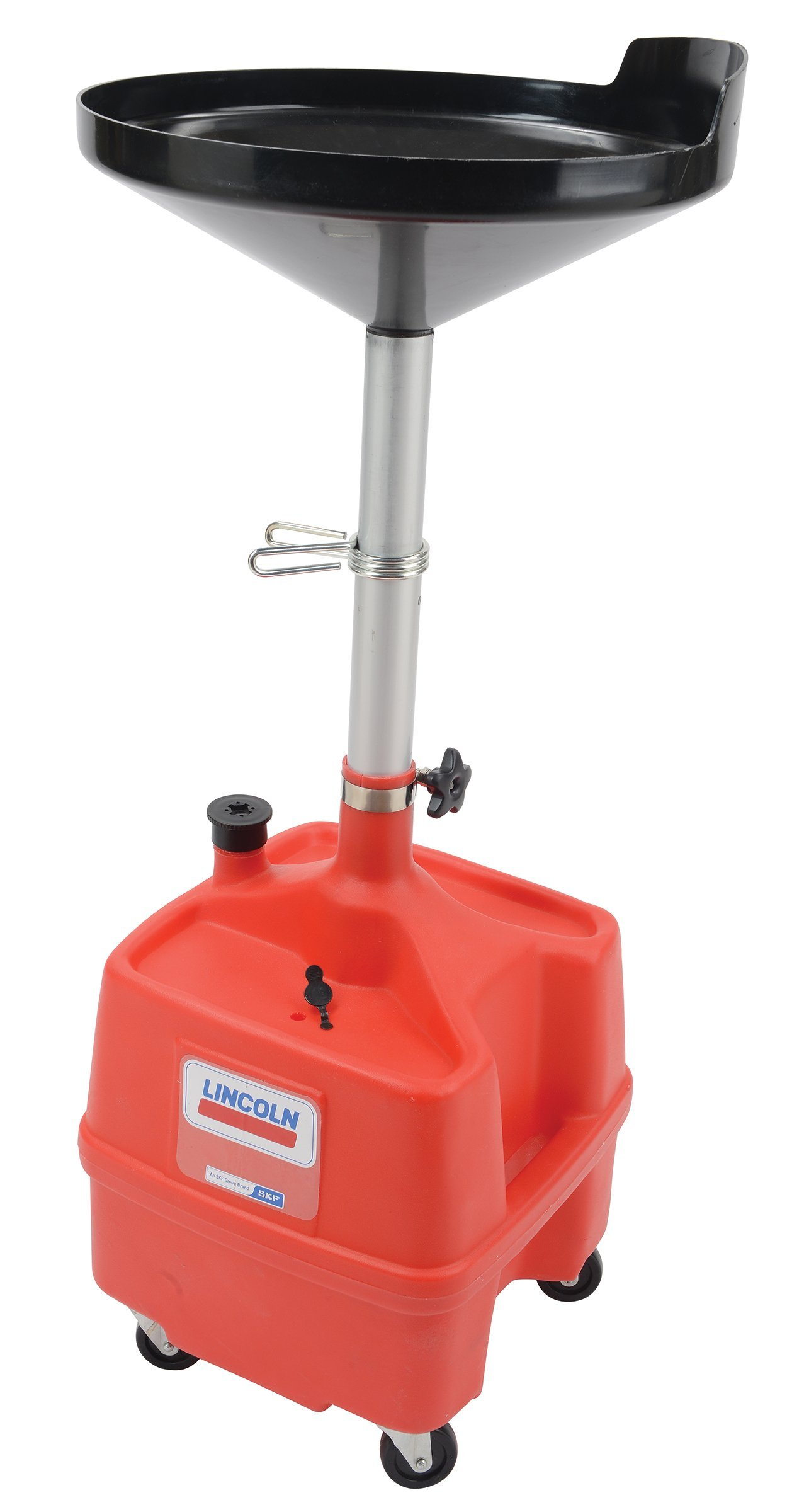 Lincoln LIN3508 Portable Oil Drain, Plastic, 8 gal. by Lincoln Electric