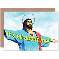 Card Merry Christmas Xmas SELF-Obsessed Jesus Christ Gift