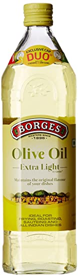 Borges Olive Oil Extra Light, 1L