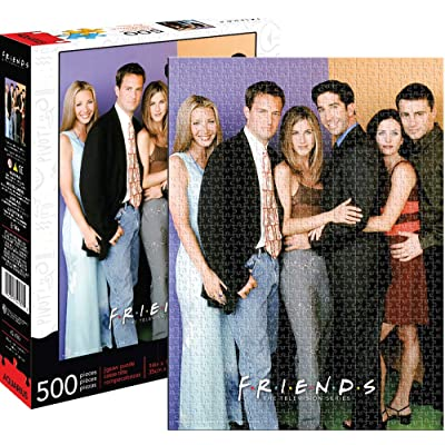 Aquarius Friends Cast 500pc Puzzle, Multi-Colored: Toys & Games