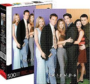 Aquarius Friends Cast 500pc Puzzle, Multi-Colored