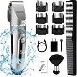 NEWPEER Hair Clippers for Men Professional Cordless Hair Trimmer Adjustable Electric Hair Clippers Beard Trimmer Wet/Dry…