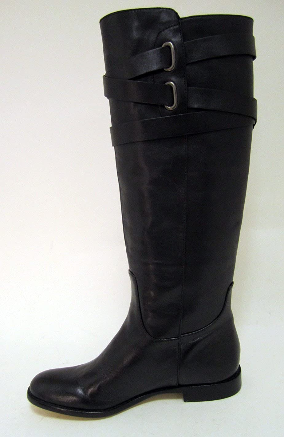 63c871a826 Amazon.com | Coach Women's Boot Cayden Smooth Nappa Leather Black Boots  (6.5) [Apparel] | Boots