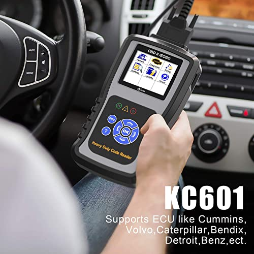 Truck Scanner: 7 Best Heavy Duty Truck Code Reader Scan Tool