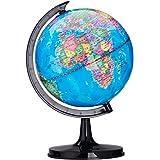 Tyou 地球の回転地球世界地図教育玩具テーブルデスクの装飾科学1ピースの世界を探検するために興味をそそる子供たちを奨励する