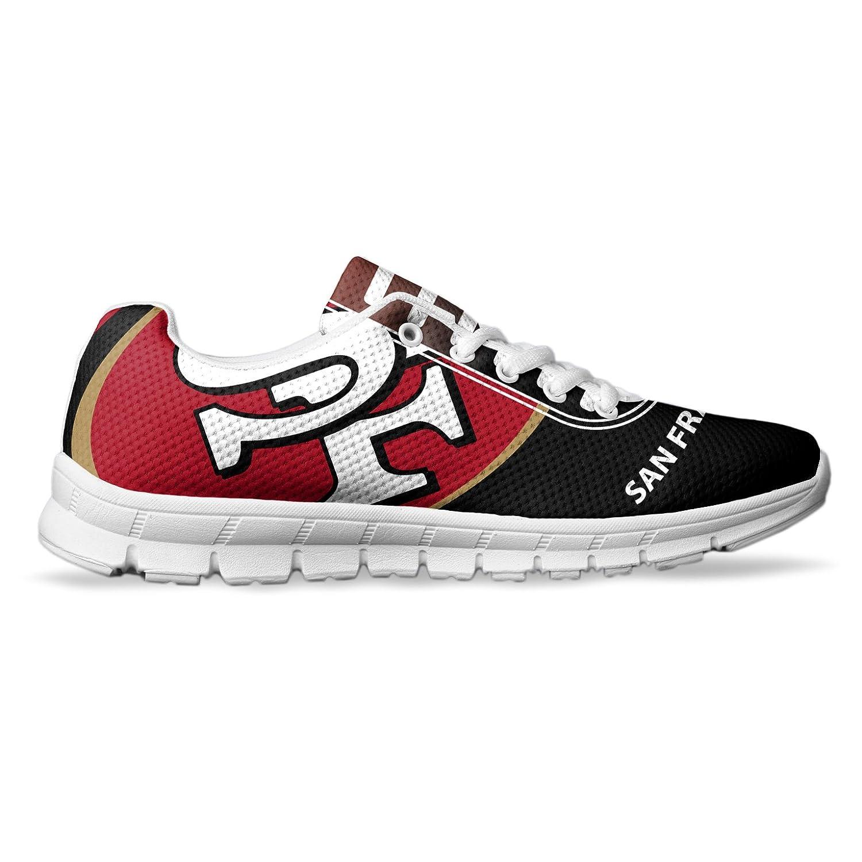 AllAmbitions Men's San Francisco Football Fan Custom Made Running Shoes/Athletic Sneakers B078NZCMPP 5 D(M) US