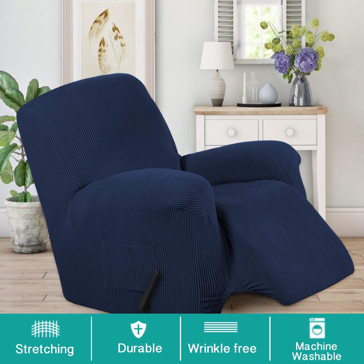 Amazon.com: Funda para sillón reclinable con bolsillos ...
