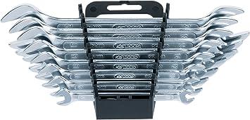 KS Tools CLASSIC Doppel-Ringschlüssel-Satz 6x7-20x22mm 8-tlg. gekröpft