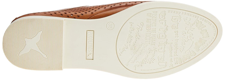 Pikolinos Damen Santorini Santorini Damen W7g Derbys Braun (Brandy) 92495c