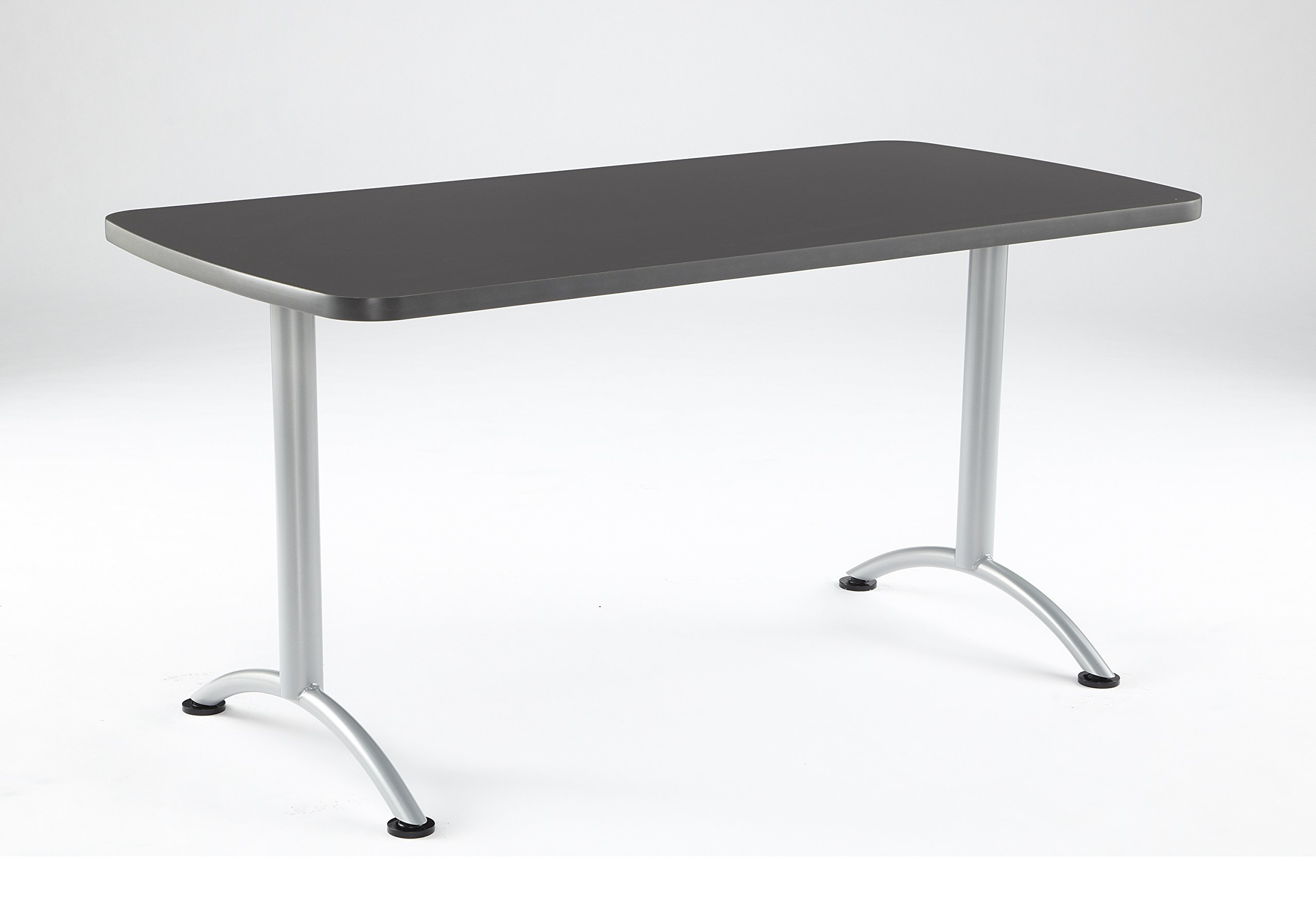 Iceberg ICE69217 ARC 5-foot Rectangular Conference Table, 30'' x 60'', Graphite/Silver Leg
