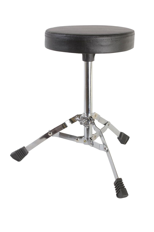Gammon 5Piece Junior Starter Drum Kit with Cymbals Hardware Sticks  Throne  Black