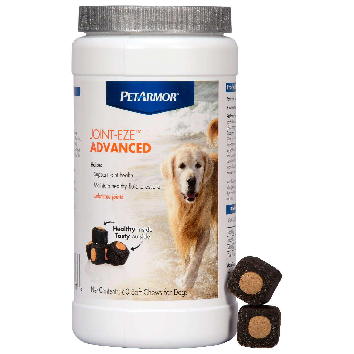 PETARMOR Joint-Eze Advanced for Dogs, 60 count by PETARMOR (Image #1)