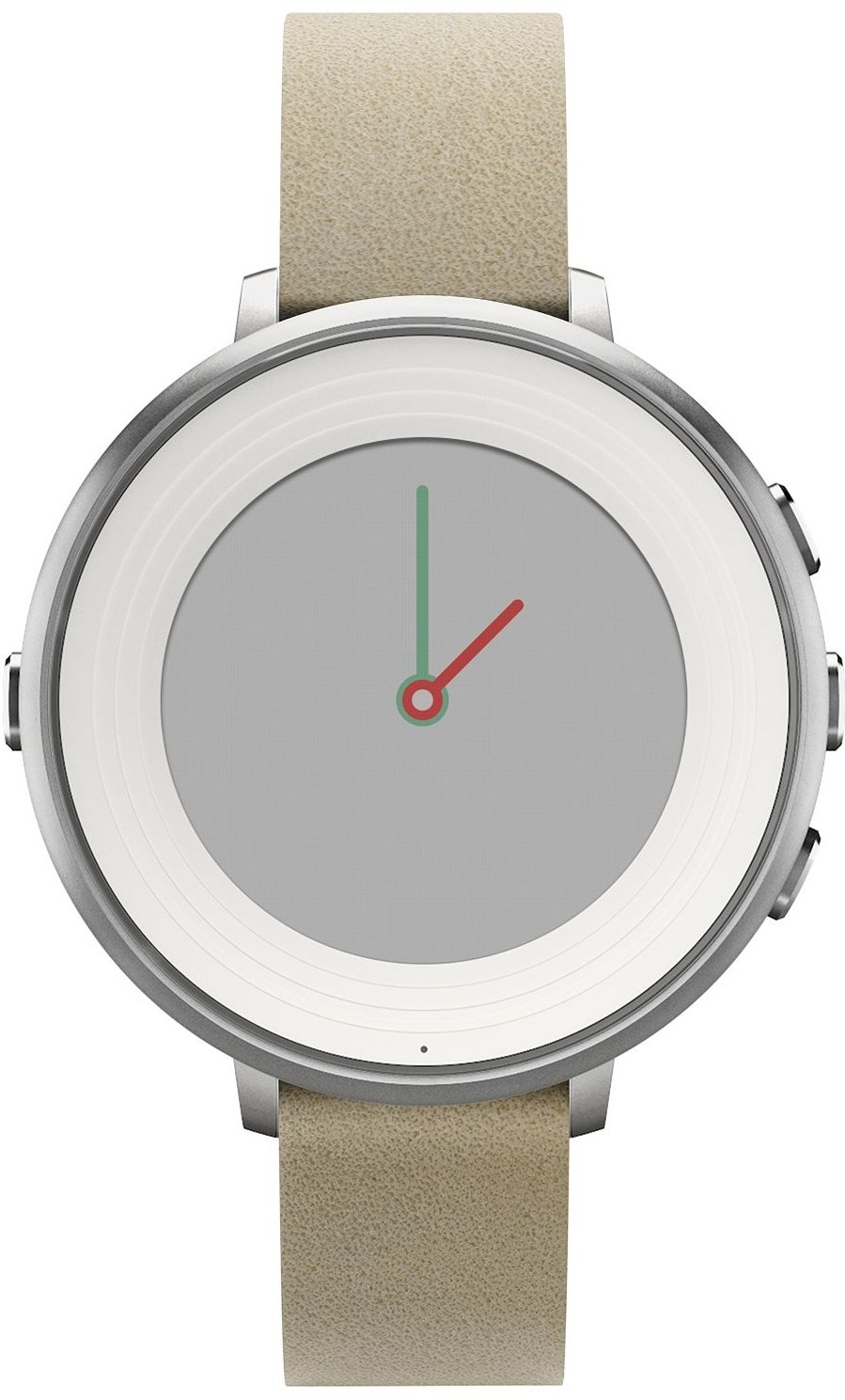 Pebble Time Around SmartWatch Montre Connectée Argent: Amazon.fr: High-tech