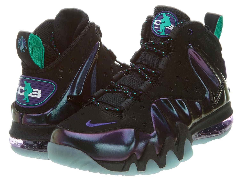 Nike Mens Barkley Posite Max svart Äggplanta 555097 -003