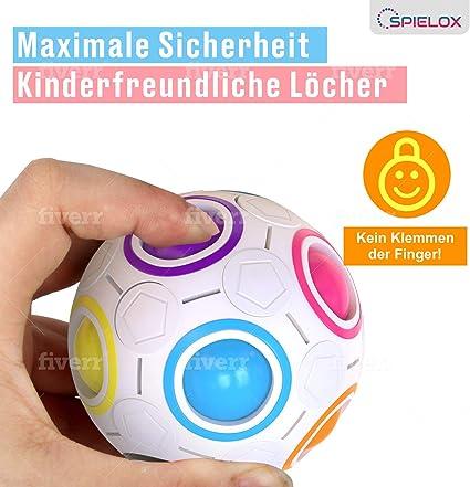 SPIELOX® Regenbogenball Verbessertes Konzept 2020
