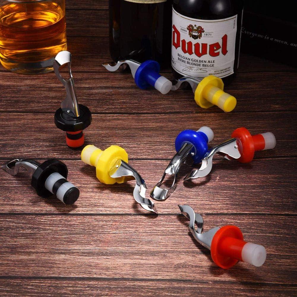 birra Jiexue champagne tappo per bottiglia di vino rosso tappo per bottiglia di vino Tappi in silicone per bottiglie di vino