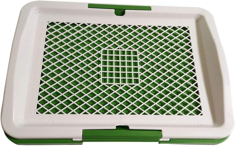 Flache Hunde Banbie Plastic Products Mobile 3-Lagen-Rasentoilette ...