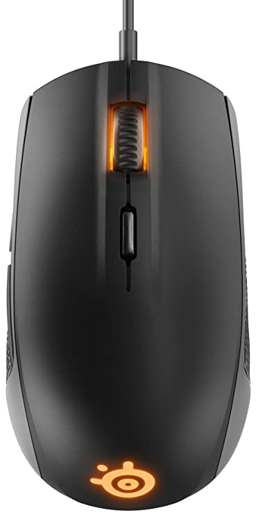 4e24f749fd5 Amazon.in: Buy SteelSeries Rival 100, Optical Gaming Mouse, RGB  Illumination, 6 Buttons, (PC/Mac) - Black Online at Low Prices in India |  SteelSeries ...