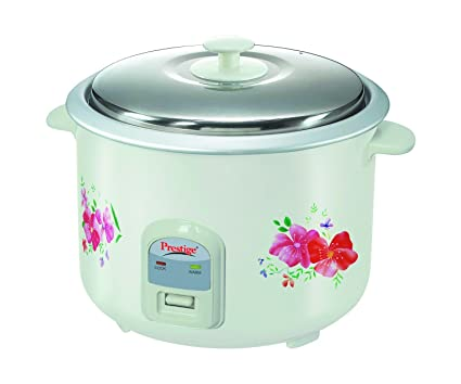 8cefefd19aa Buy Prestige Delight Electric Rice Cooker PRWO 2.8-2 (1000 Watts) with 2  Aluminium Cooking Pans