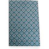 LOWYA ラグ ラグマット カーペット 床暖房可 花柄 絨毯 長方形 160×230cm ブルー