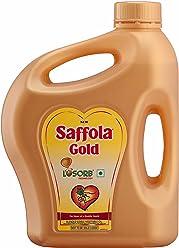 Saffola Gold, Pro Healthy Lifestyle Edible Oil, 2 L Jar