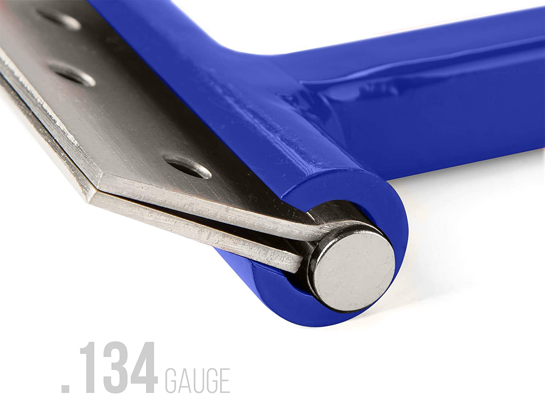 Dual Hinge Bender for Comercial Door Hinges Hinge Knucke 0.134/&0.180 Gauge Blue Color