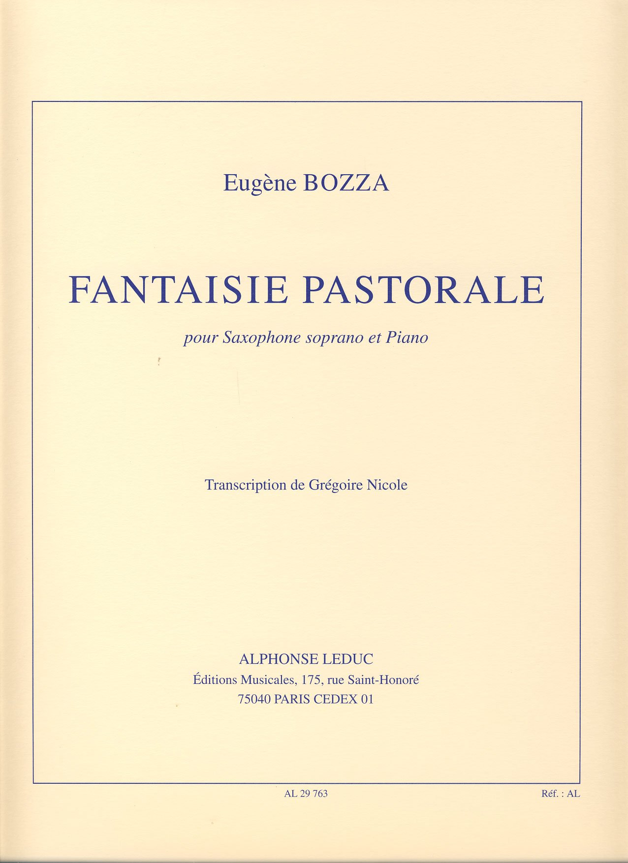 FANTAISIE PASTORALE BOZZA EPUB DOWNLOAD