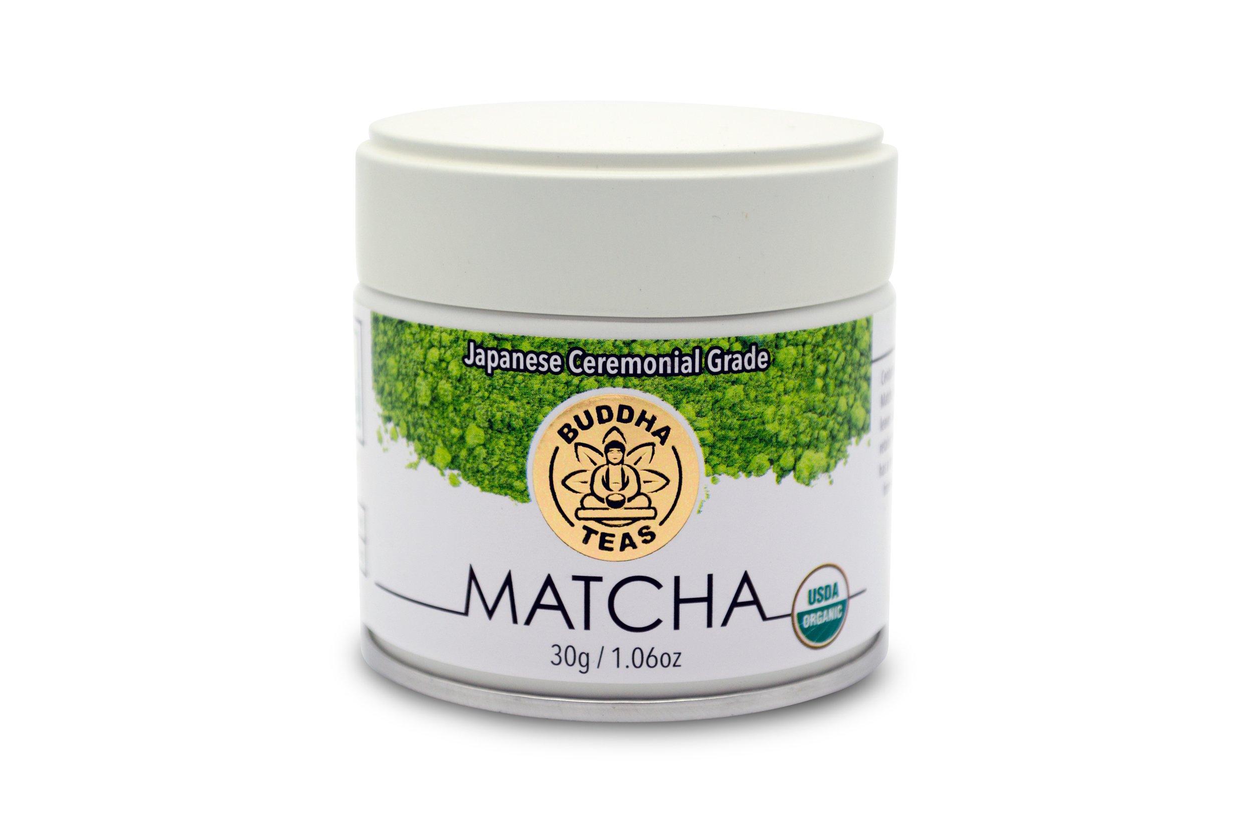 Premium Organic Japanese Ceremonial Grade Matcha Powder - (30 grams)