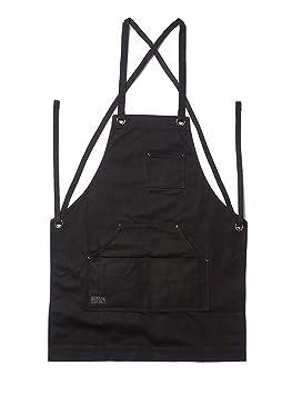 Hot para hombre negro lavavajillas delantal impermeable para hombres mujeres Chef, negro comercial restaurante y casa cocina: Amazon.es: Bricolaje y ...