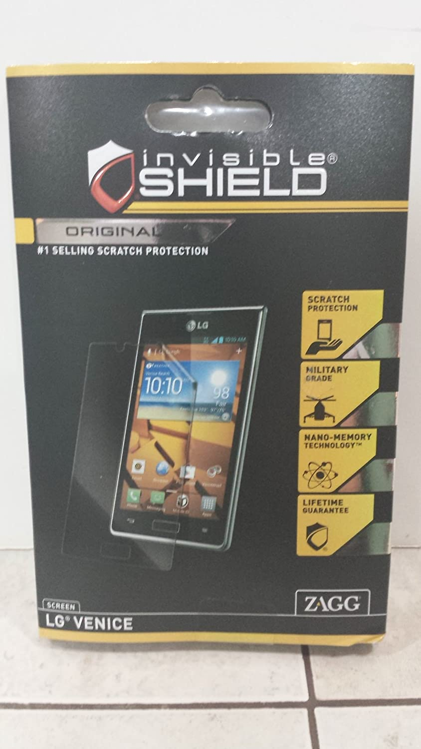 Zagg Com Register >> Zagg Invisible Shield For Lg Venice 1 Screen Protector Pack