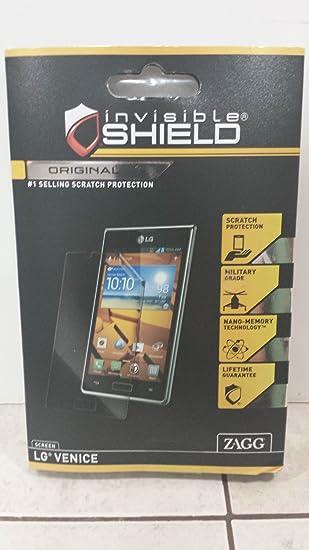 Zagg Com Register >> Amazon Com Zagg Invisible Shield For Lg Venice 1 Screen Protector