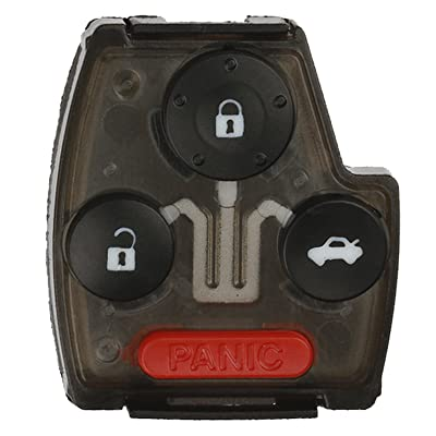KeylessOption Keyless Entry Remote Car Key Fob Case Button Pad Outer Shell For OUCG8D-380H-A: Automotive