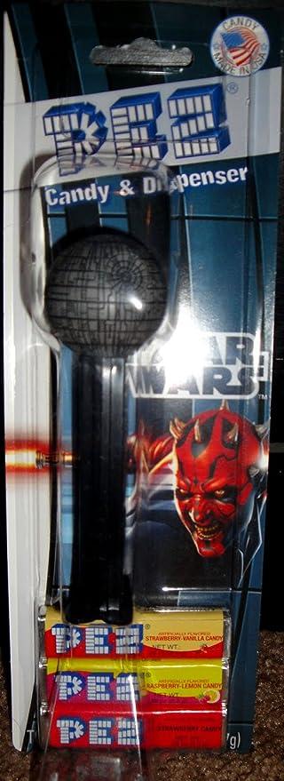 Pez Candy Dispenser: Star Wars Death Star Blister Card
