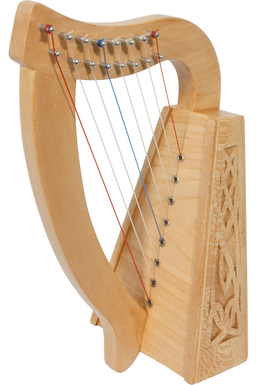 ROOSEBECK LILY HARP 8-STRING, LACEWOOD HLLAL