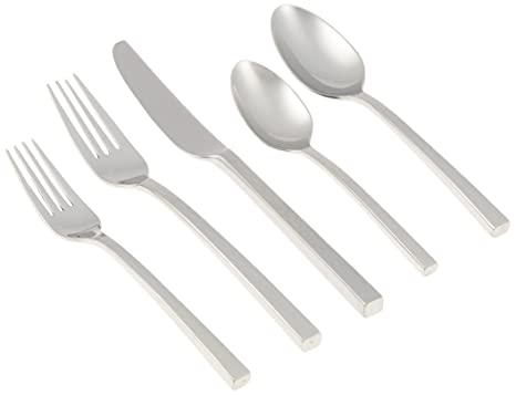 Amazon.com: Wedgwood Vera Wang inoxidable Hammered 5-Piece ...