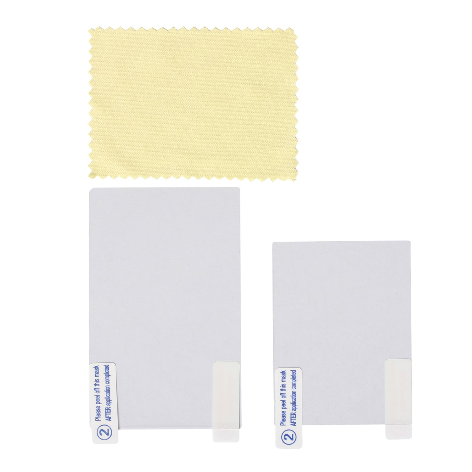 Timorn Screen Protector Top and Bottom Cover for New 3DS with cleaning cloth (10sets)