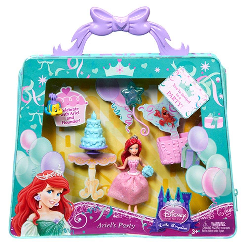 Disney Princess Y1444 - Arielle Mini Spielset  Ariel´s Party  in Tragetasche. exklusiv aus den USA