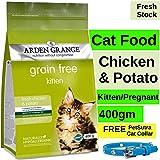 Arden Grange Cat Food Kitten, Lactating/Pregnant Cats (Chicken & Potato, 400gms)
